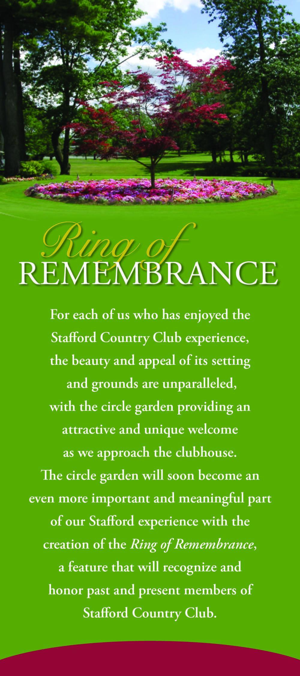 2015 Ring of Rememberance - Rackcard