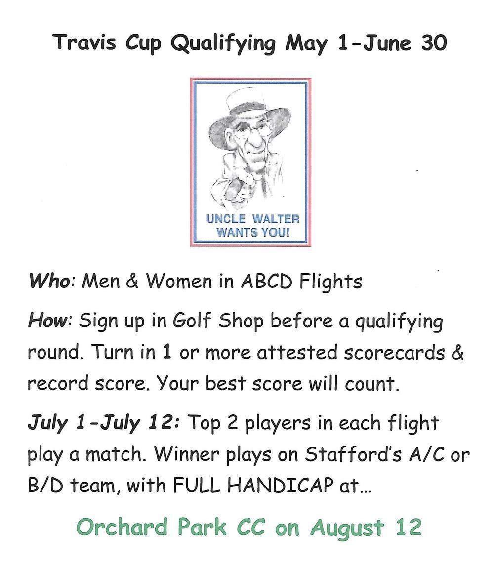 2016 Travis Cup Flyer